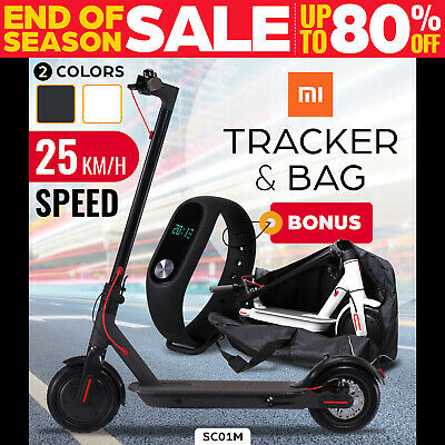 AU499 • Buy Electric Scooter 300W Foldable Portable Adult Kids Xiaomi Band Commuter Bike M