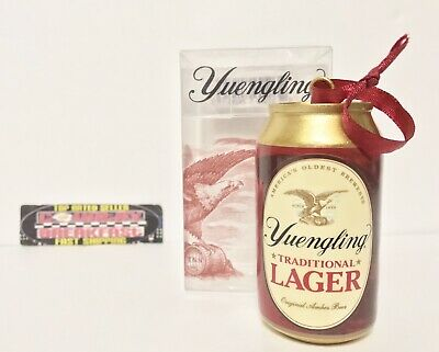 "$24.95 • Buy Yuengling Traditional Lager Beer Can Ornament 3.5"" Tall - Brand New In Box!"
