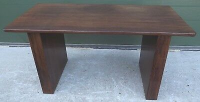 Vintage 1970s Hardwood Coffee Table Nice Contemporary Design Of African Origin • 125£