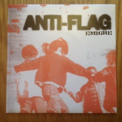 Anti-Flag Emigre Rare German Promo 7  PS Plus Press Sheets Punk Green Day  • 15£