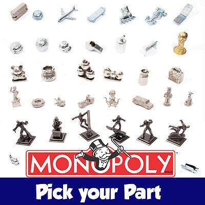 £4.95 • Buy PICK YOUR PART - Monopoly Tokens / Movers / Playing Pieces - SPARE REPLACEMENTS