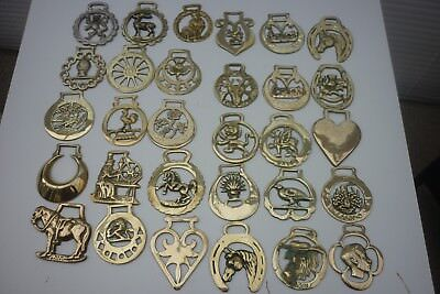 99 Assorted Horse Brasses (8c) ~ Make Great Gifts ~ Combine Post ~ See Below • 3.10£