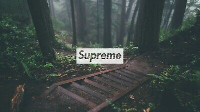 Supreme Wood Landscape Canvas Wall Art Wood Framed Ready To Hang XXL Supreme • 25£