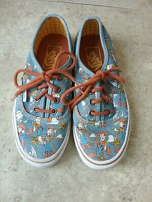 30381568abf4 Vans Skateboard Disney Woody Toy Story Shoes Size M 4