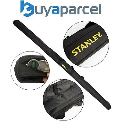 View Details Stanley Fatmax Level Bag Padded Holds Up To 4 Levels 6ft 4ft 2ft Torpedo 250mm • 24.99£