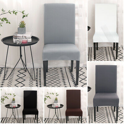 AU4.99 • Buy 1/4/6/8Pcs Stretch Dining Chair Cover Removable Slipcover Washable Banquet Event