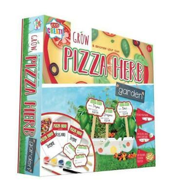 £9.99 • Buy Kids Create Grow & Decorate Your Own Pizza Garden Herbs Childrens 8+ New