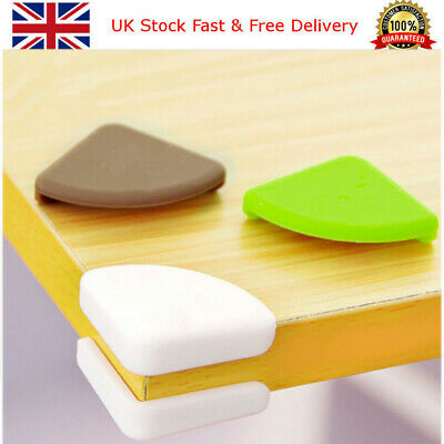 £4.89 • Buy Baby Safety Corner Cushions Silicone Table Protectors Desk Edge Guards Cover UK