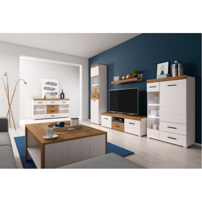 Living Room Furniture Set Tv Unit Display Stand Wall Mounted Cupboard Cabinet • 355£