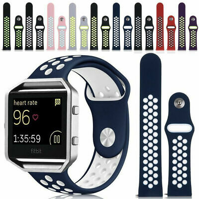 $ CDN11.82 • Buy Replacement Silicone Sport Band Bracelet Strap + Frame For Fitbit Blaze Tracker