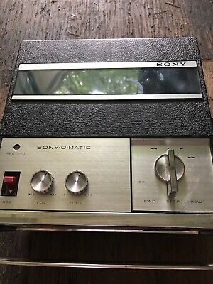 $24 • Buy Vintage Sony Solid State Sony-O-Matic Reel To Reel Tapecorder TC-900 S