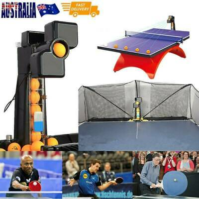 AU445.20 • Buy JT-A Automatic Ping-pong Ball Machine Table Tennis Robot Practice Recycle Net