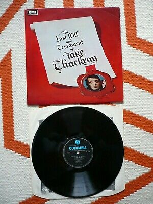Jake Thackray The Last Will And Testament Of Vinyl UK 1967 Signed Autograph LP • 79.99£