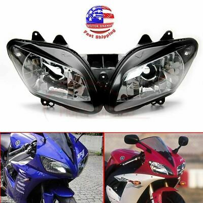 $59.96 • Buy FDB Replacement Headlight Head Light Lamp Assembly For Yamaha YZF R1 2002 2003