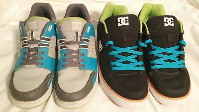 $ CDN96.61 • Buy LOT Of 2 Pairs Of DC Shoes: SPARK RS & PURE TX (both Size Mens 13)(RARE COLORS!)