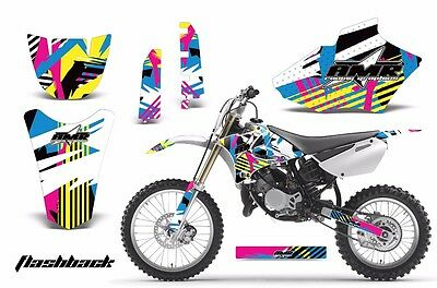 AU252.65 • Buy Dirt Bike Decal Graphics Kit MX Sticker Wrap For Yamaha YZ85 2002-2014 FLASHBACK