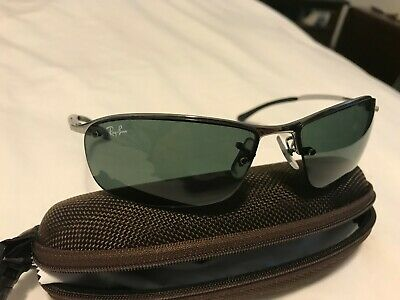 7d3aa29d817bd Ray Ban RB 3183 004 71 Top Bar Sunglasses 63 Mm Silver Frame Classic 125