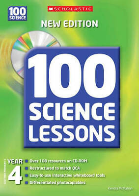 100 Science Lessons For Year 4 (100 Science Lessons), Kendra McMahon, Used Very  • 9.82£