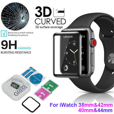 $ CDN4.26 • Buy Screen Protector 3D Curved Edge Smart Watch Film For Apple Watch Series 1 2 3 4