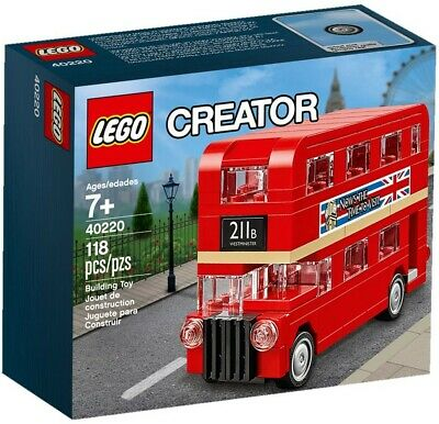 $ CDN25.51 • Buy LEGO Exclusive Creator London Bus 40220 Double Decker 2016 NEW!