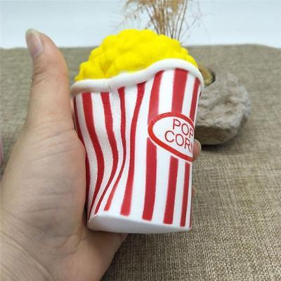 AU4.32 • Buy Cream Scented Squishies Jumbo Slow Popcorn Cup Rising Food Simulation Gifts MH