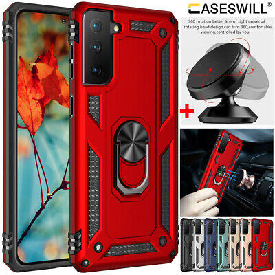 $ CDN6.35 • Buy For Samsung Galaxy Note 10 S10 S9 S8 Plus S10e Shockproof Ring Holder Stand Case