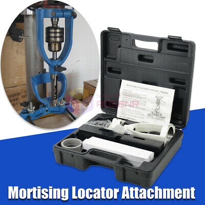 £84.98 • Buy Locator Set Of Bench Drill For Mortising Chisels Woodworking Square Hole Machine