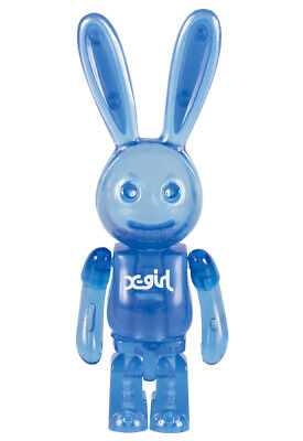 $74.99 • Buy KUBRICK 100% X-girl Bunny CLEAR BLUE Ver. Rare Medicom Bearbrick From Japan