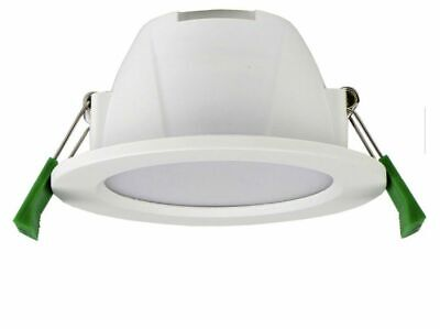 AU17.83 • Buy 3 In 1 LED Spot Downlight IP44 9W LED Dimmable Frosted White  3000k/4000k/6500k