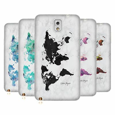 £14.95 • Buy Official Nature Magick World Map On Marble Soft Gel Case For Samsung Phones 2
