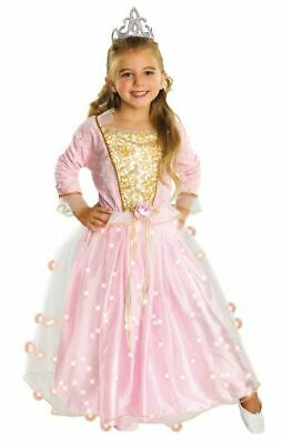£15.99 • Buy Kids Pink Fairy Rose Princess Girls Light Up Fancy Dress Costume Childs Outfit