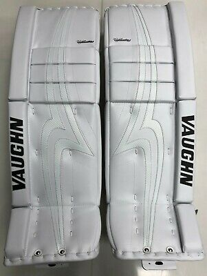 $499.99 • Buy New Vaughn Pro V Elite Hockey Goalie Leg Pads Int 31 +2 Intermediate All White