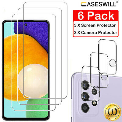 £3.62 • Buy Samsung Galaxy A12 A02 A02S A22 A32 A42 A52s A72 Tempered Glass Screen Protector
