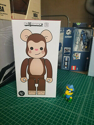$450 • Buy Bearbrick Medicom 2018 Clot Monkey 400% EDC Edison Chen Juice Be@rbrick