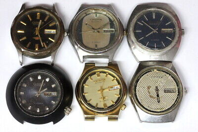 $ CDN67.88 • Buy Lot Of Citizen 8200/6501 Automatic Mens Watches For Parts - Nr. 138777