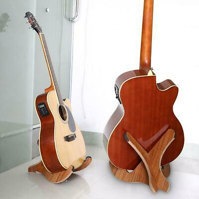 $ CDN35.30 • Buy Portable Foldable Wooden Holder Stand For Folk Classical Acoustic Guitar Cello