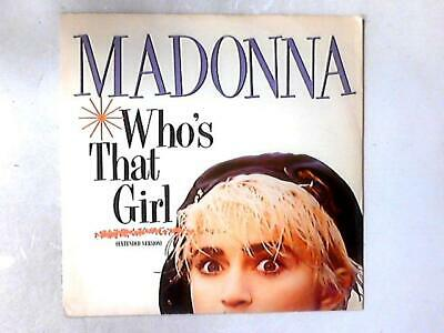 £5.37 • Buy Who's That Girl 12in (Madonna - 1987-07-00) W8341T (ID:15585)