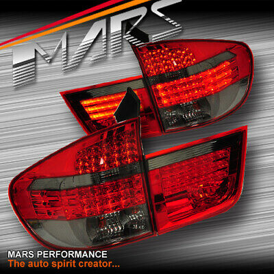 $394.70 • Buy Smoked Red LED Tail Lights For BMW X5 E70 Pre LCI 07-10 30d 35d 40d 48i & M Tech