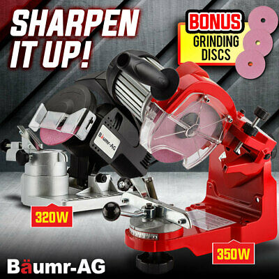 AU149 • Buy Baumr-AG Chainsaw Sharpener Chain Saw Electric Sharpening Blade Tools Grinder