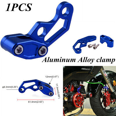 $6.58 • Buy Fixed Motorcycle Modified Parts Oil Pipeline Clamp Aluminum Alloy Clamp