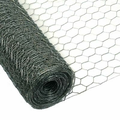 Chicken Rabbit Wire Galvanised Mesh 25m X 0.75m 25mm Roll Woven Metal Fence • 34.90£