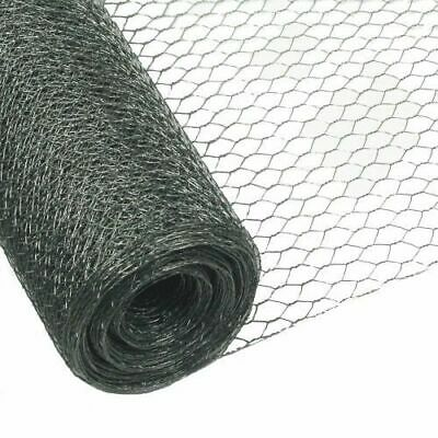 Chicken Rabbit Wire Galvanised Mesh 25m X 0.5m 13mm Roll Woven Metal Fence New • 26.90£