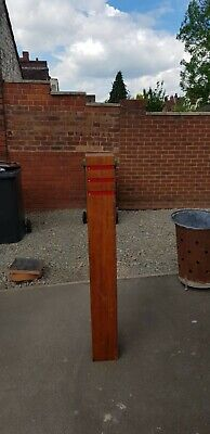 Pure Solid Wooden Oak Bollards/Posts 55inches Height 7inches Square Width • 100£