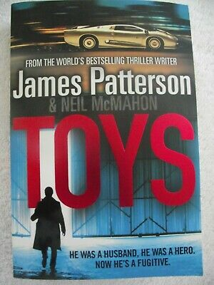 AU6 • Buy   TOYS     ~ James Patterson ~ LARGE PAPERBACK