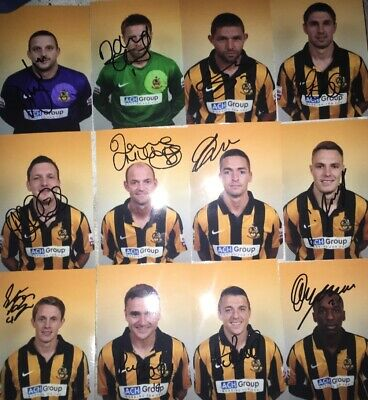 £15.99 • Buy 17 Signed 6x4 Photo Of Southport Fc