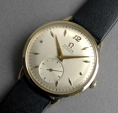 View Details OMEGA 14K Solid Gold Vintage Gents Automatic Bumper Watch 1949 • 895.00£
