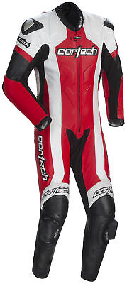 $799.99 • Buy Cortech Mens Red/White/Black Adrenaline 1pc Motorcycle Suit