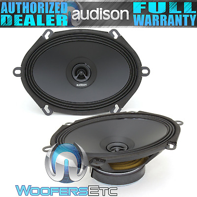 AU254.23 • Buy AUDISON APX570 5 X7  6 X8  2-WAY CONCENTRIC COAXIAL TWEETERS CAR SPEAKERS NEW