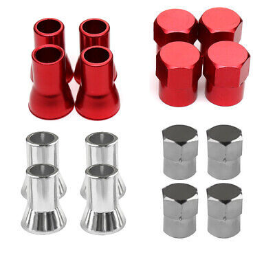 $ CDN1.39 • Buy 4pcs Tpms Tire Valve Stem Cap With Sleeve Cover Chrome American Car Auto 2color