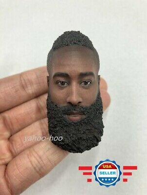 $34.13 • Buy 1/6 James Harden Head Sculpt NBA For 12  Enterbay Hot Toys PHICEN TBL Figure
